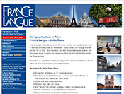 Sprachschule France Langue Paris
